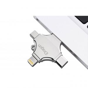 Универсальная флешка iDragon iUSB/drive 128gb