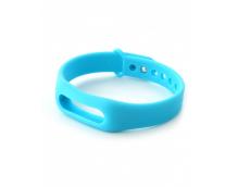 Ремешок силиконовый для фитнес-трекера Xiaomi Mi Band 2 (Blue)