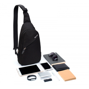 Рюкзак Xiaomi Pelliot Simple Tide Fashion Bag Lighe Grey