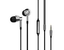 Стерео-наушники 1MORE Triple Driver In-Ear Headphones (Silver) E1001 (арт. 05058)