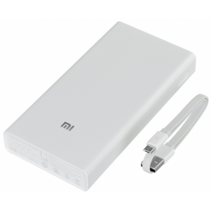Внешний аккумулятор Xiaomi Redmi Power Bank 20000 mAh (белый)