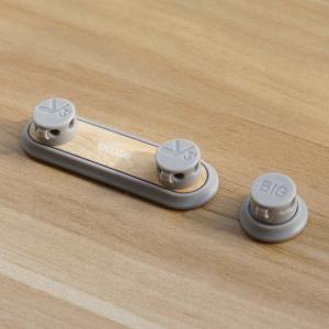 ДЕРЖАТЕЛЬ ДЛЯ ПРОВОДОВ BCASE TUP2 MAGNETIC ABSORPTION CABLE CLIP (СВЕТЛО-СЕРЫЙ)