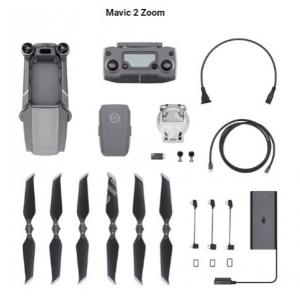 Квадрокоптер DJI Mavic 2 Zoom (серый)