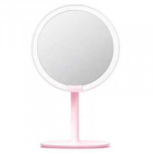Настольное зеркало Xiaomi Amiro Lux High Color (AML004W) Pink
