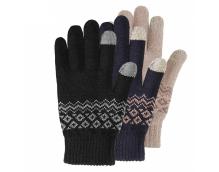 Перчатки для сенсорных экранов Xiaomi FO Touch Gloves Blue