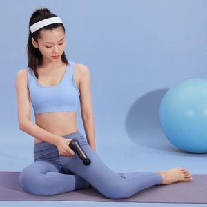 Перкуссионный массажёр JOYROOM Mini Massage Gun (JR-GH113) Черный