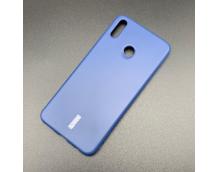 Силиконовая накладка Cherry для Huawei Honor 8X (2018) синий