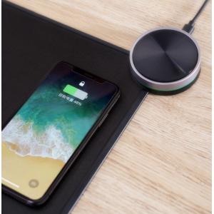 Коврик для мыши с беспроводной зарядкой Xiaomi (Mi) Smart Qi Wireless Charging Mouse Pad (MWSP01) (Black)