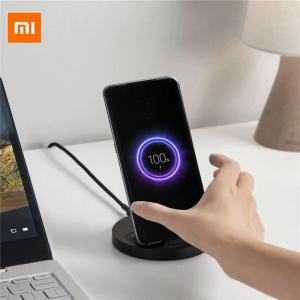 Беспроводное зарядное устройство Xiaomi Vertical Universal Wireless Charger 20W WPC02ZM черный