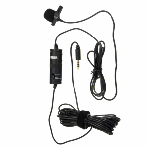 Микрофон Boya BY-M1 петличный, всенаправленный, 3.5 мм