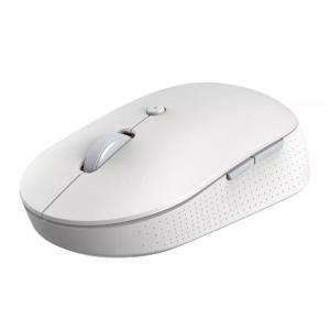 Беспроводная бесшумная мышь с двойным подключением Xiaomi Mi Mouse Silent Edition Dual Mode (белый) (WXSMSBMW02)