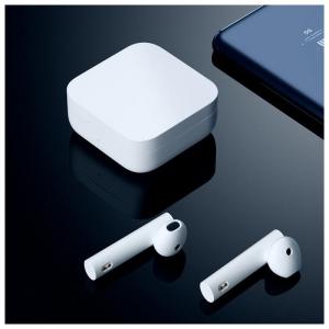 Беспроводные наушники Xiaomi Mi True Wireless Earphones 2 Basic RU белый (TWSEJ08WM)