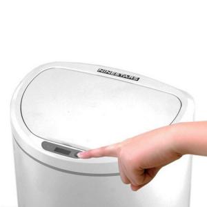Умное мусорное ведро Xiaomi Ninestars Sensor Trash Can, 10 л белый