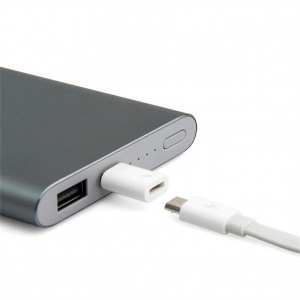 Внешний аккумулятор Xiaomi Mi Power Bank Pro (10000 mAh) Grey с функцией быстрой зарядки