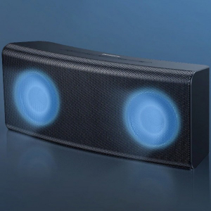 Беспроводная колонка с подсветкой Baseus Encok E08 (NGE08-01) черный