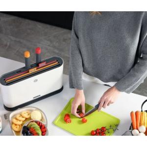 Кухонный набор со стерилизатором Morphy Richards Knife and Chopping Board Sterilizer Set (MR1000)