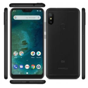 Телефон Xiaomi Mi A2 Lite 4/64 Black EU (Xiaomi Redmi 6 Pro)