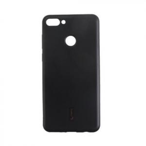 Силиконовая накладка Cherry для Huawei Y9 (2018) черный