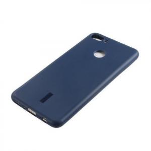 Силиконовая накладка Cherry для Huawei Y9 (2018) синий