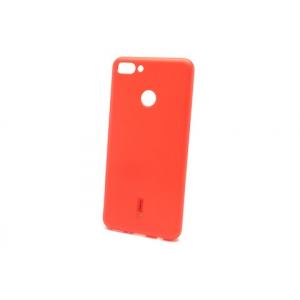 Силиконовая накладка Cherry для Huawei Y9 (2018) красный