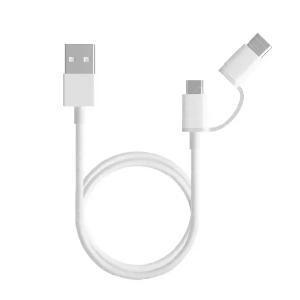 USB кабель Micro USB-100 см (Xiaomi, белый)