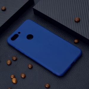 Силиконовая накладка Cherry для Xiaomi Mi-8 LiTE (2018) синий