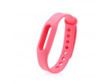 Ремешок силиконовый для фитнес трекера Xiaomi Mi Band 2 (Pink)