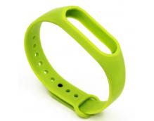 Ремешок силиконовый для фитнес трекера Xiaomi Mi Band 2 (Green)