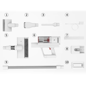 Беспроводной Пылесос XIAOMI Shunzao Z11 Genio Edition Белый