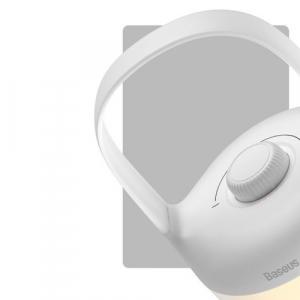 Ночник Baseus Moon-white Series Knob Stepless Dimming Portable Lamp DGYB-02 белый