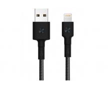 Кабель USB/Lightning Xiaomi ZMI MFi 30 см (AL823) (Black)