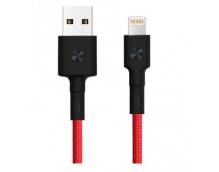 Кабель USB/Lightning Xiaomi ZMI MFi 30 см (AL823) (Red)