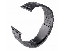 Браслет металлический сменный Watch Band (Black)