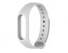 Ремешок силиконовый для фитнес трекера Xiaomi Mi Band 2 (White)