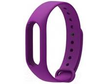 Ремешок силиконовый для фитнес трекера Xiaomi Mi Band 2 (Purple)