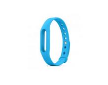 Ремешок силиконовый для фитнес-трекера Xiaomi Mi Band 2 Original (Blue)