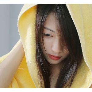 Банное полотенце Xiaomi BINSA 150х78 (желтое)