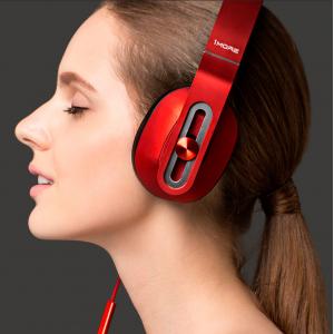 Стерео-наушники накладные 1MORE Over-Ear Headphones Red (MK801)
