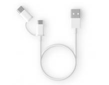 Кабель 2in1 USB Type-C/Micro Xiaomi ZMI 100см (AL501)