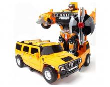Радиоуправляемый трансформер Hammer H2 Yellow