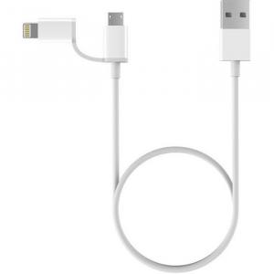 Провод Xiaomi ZMI 2 in 1 USB Lighting-Micro 100cm