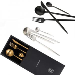 Набор столовых приборов Maison Maxx Stainless Steel Modern Flatware Set Silver