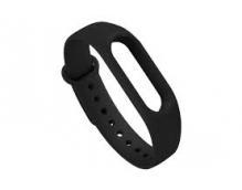 Ремешок силиконовый для фитнес-трекера Xiaomi Mi Band 2 Original (Black) Xiaomi