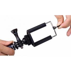 Монопод MoMax SelfiFit Selfie Pod с bluetooth-кнопкой - серебристрый