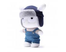 Мягкая игрушка Xiaomi (Mi) Rabbit 30 см (джинсовый комбинезон)