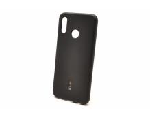 Силиконовая накладка Cherry для Huawei Honor 8C (2018) черный