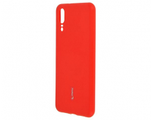 Силиконовая накладка Cherry для Huawei P20 красный