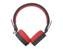 Стерео-наушники накладные Rock Y10 Stereo Headphone (красные)