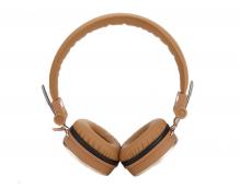 Стерео-наушники накладные Rock Y11 Stereo Headphone (золото)