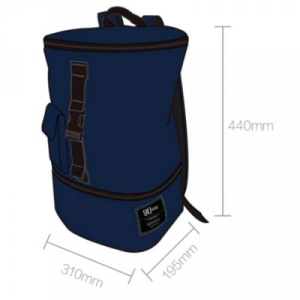 Рюкзак Xiaomi 90FUN Chic Casual Backpack 14-дюймовый Blue CHIC